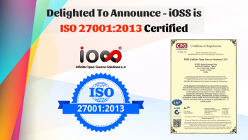 iOSS ISO 27001:2013 certified